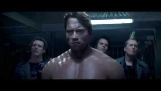 Terminator 5 Genisys Arnold vs Arnold Fight Uninterrupted (HD)