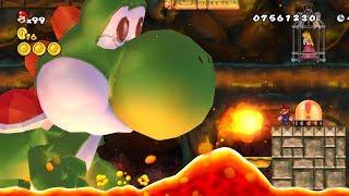 New Super Mario Bros. Wii - Final Boss Evil Yoshi & Ending