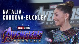 Agents of S.H.I.E.L.D. Natalia Cordova-Buckley LIVE from the Avengers: Endgame Premiere