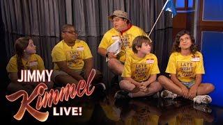 Late-Night Summer Camp Interrupts Jimmy Kimmel