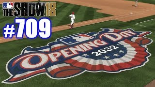 FIRST GAME WITH NEW TEAM!   MLB The Show 18   Road to the Show #709