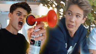 Mein krassester Prank an Ben!! *AIR HORN* | Oskar