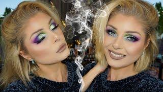 Colorful Cutcrease Makeup Tutorial