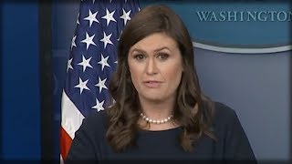 SECONDS AGO SARAH HUCKABEE ADMITTED SOMETHING HUGE THAT HAS JOURNALISTS IN TEARS