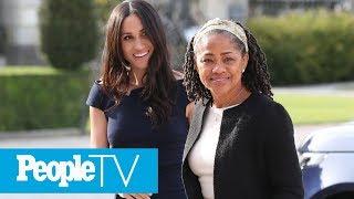 Grandma Has Arrived! Doria Ragland Arrives In London Ahead Of Birth Of Royal Baby: Report | PeopleTV
