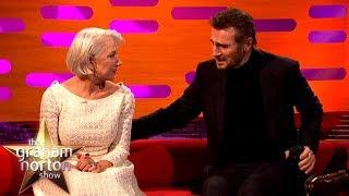 Helen Mirren Reunited with Ex-Boyfriend Liam Neeson | The Graham Norton Show