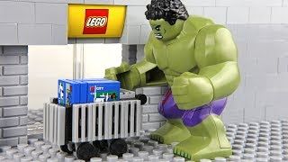 Lego Hulk Shopping