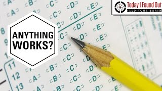 """Why You Used to Have to Use Number 2 Pencils on Scantrons (and Why Pencil """"Lead"""" is Called Lead)"""