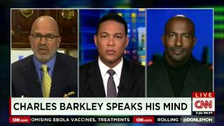 Van Jones: Charles Barkley agrees with Ferguson grand jury decision