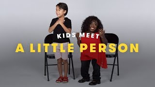 Kids Meet a Little Person | Cut