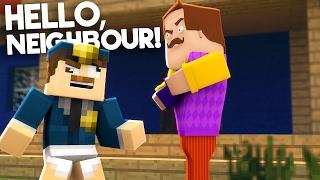 Minecraft - HELLO NEIGHBOUR   DIE POLIZEI RÜCKT AN!