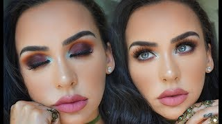 SUMMER SUNSET MAKEUP | ALL NEW PRODUCTS! Carli Bybel