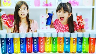 Don't Choose the Wrong Water Bottle Slime Challenge!