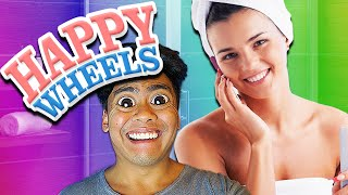 Naked Woman In 21 SECONDS! | Happy Wheels #3