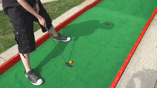 ONCE IN A LIFETIME HOLE IN ONE! | Mini Golf Adventures