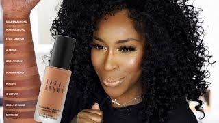 ANOTHER Matte Foundation?! Bobbi Brown Skin Long Wear Matte Foundation | Jackie Aina