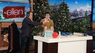 Behind the Scenes: Steve Spangler Rehearses with Average Andy