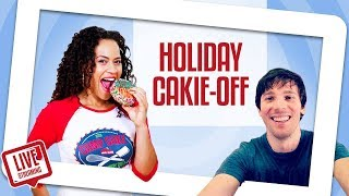 FUN & FESTIVE Holiday Cakie-Making Competition | Yolanda Gampp | How To Cake It