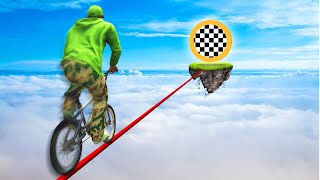 ONLY 0.1% OF ALL PLAYERS CAN FINISH THIS TIGHTROPE! (GTA 5 Funny Moments)