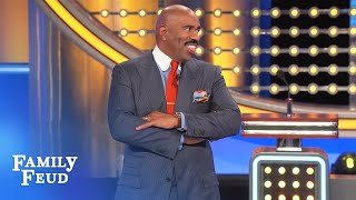 When Snow White met Pinocchio... | Family Feud