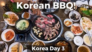 Korean BBQ! (Day 3)