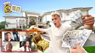 $1,000 TREASURE HUNT IN TEAM 10 MANSION (INSANE)
