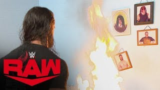 "Seth Rollins goes berserk, destroying ""Firefly Fun House"": Raw, Oct. 14, 2019"
