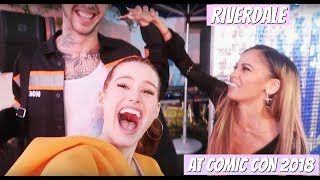 Comic con 2018 for Riverdale | Madelaine Petsch
