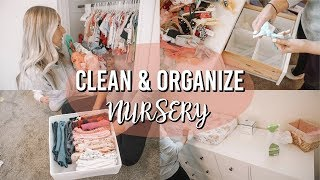 NURSERY ORGANIZATION & CLEANING | TIPS & TRICKS