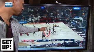 Jalen Rose breaks down film of the Trae Young vs. Grayson Allen scuffle | Get Up! | ESPN