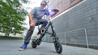 RiDICULOUS ELECTRIC MOTORCYCLE