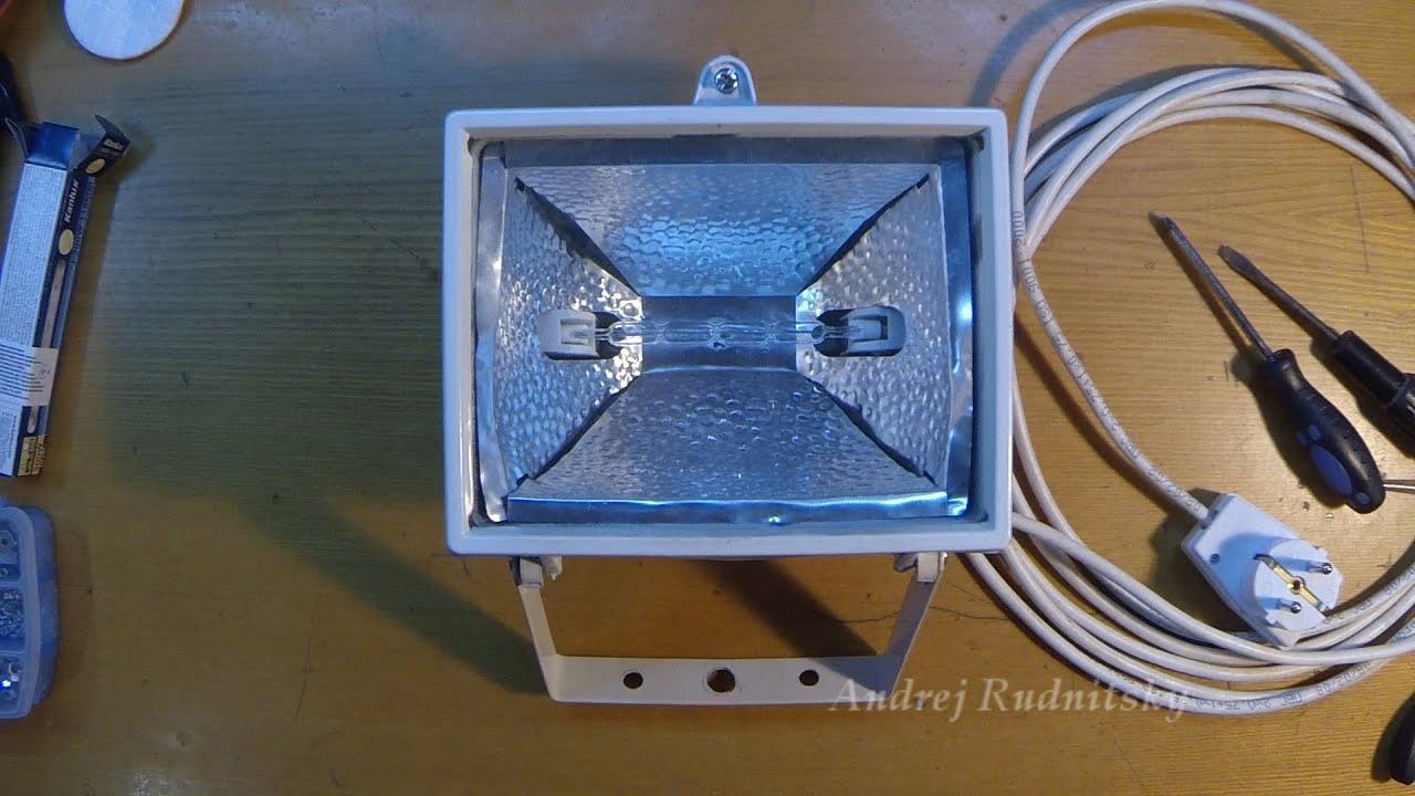 Светодиодные прожектора своими руками