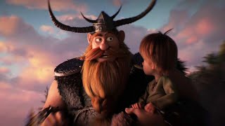 How to Train Your Dragon: The Hidden World - Hiccup and Stoick the Vast Clip