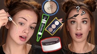 FULL FACE OF FIRST IMPRESSIONS | Drugstore and Highend Makeup