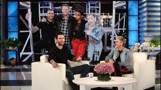 Adam Levine Gripes About Blake Shelton and Gwen Stefani