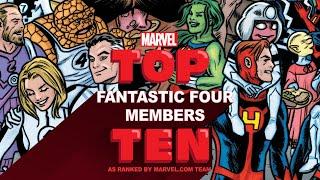Top 10 Fantastic Four Members | Top 10