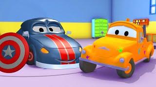 Matt der First Avenger - Die Lackierwerkstatt von Tom dem Abschleppwagen | Lastwagen Cartoons