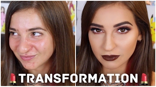 GLAM MAKEUP TRANSFORMATION ON THE GABBIE SHOW! | Manny MUA