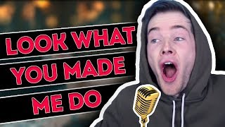 DanTDM Sings Look What You Made Me Do