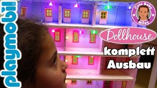 Playmobil DOLLHOUSE Puppenhaus MEGA komplett Ausbau mit Licht | CuteBabyMiley