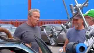 Behind the scenes Terminator Genesys detras de camara