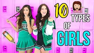 10 Types of Girls at School!