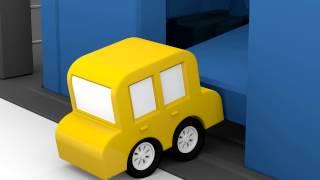 Lehrreicher Zeichentrickfilm - Die 4 kleinen Autos - Der Gefängnisausbruch