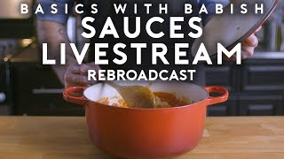 Livestream #1 | Basics with Babish