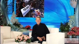 She Thought She Was Just Running Errand, But Ellen