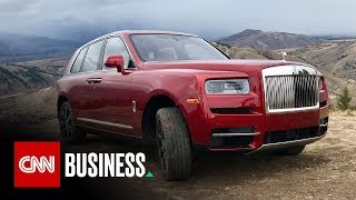 Rolls-Royce Cullinan: Off road in the world