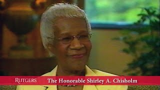 Conversation with Shirley A. Chisholm (Talking Leadership series)