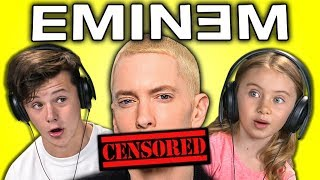 KIDS REACT TO EMINEM