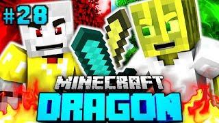 Der ERSTE KAMPF in DRAGON?! - Minecraft Dragon #028 [Deutsch/HD]