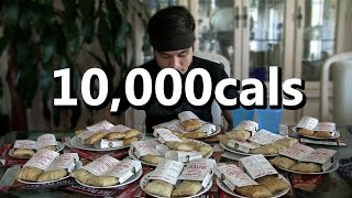 10,000cal Hot Pocket Challenge (2,000,000 sub video?)